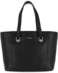 HUGO - Mayfair Sm Shopper Black - Lyst