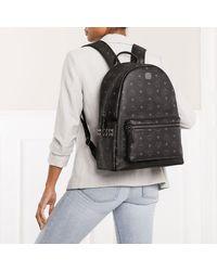 MCM Stark Backpack Medium Black - Noir