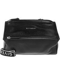 Givenchy - Pandora Mini Bag Leather Black - Lyst