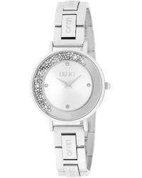 Liu Jo Tlj1683 Mini Dancing Unique Quartz Watch Silver - Metallic