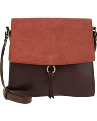 Closed - Soft Square Shoulder Bag Fawn - Lyst