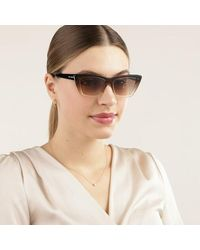 Saint Laurent Sl 276 Mica-019 53 Sunglasses Woman - Bruin