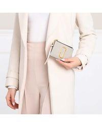 Marc Jacobs The Snapshot Top Zip Multi Wallet - Grijs
