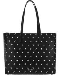 Versus    Shopper Studs Black-white-nickel   Lyst
