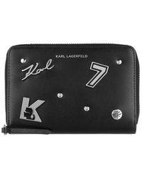 Karl Lagerfeld Karl Seven Pins Zip - Noir
