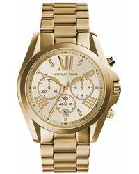 Michael Kors - Mk5605 Bradshaw Watch* Gold-tone - Lyst