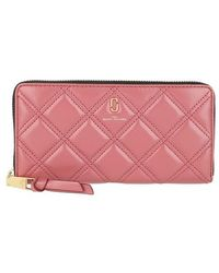 Marc Jacobs Standard Continental Wallet - Rose