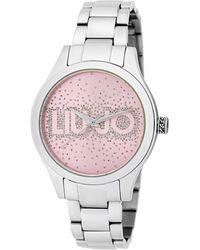 Liu Jo Tlj1616 Rainfall Quartz Watch Silver - Metallic