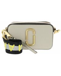 Marc Jacobs Logo Strap Snapshot Small Camera Bag Leather - Pink