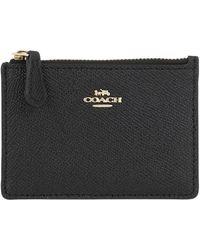 COACH Mini Skinny Wallet Black