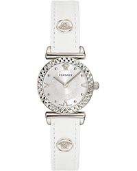 Versace Watch Mini Vanity White - Metallic