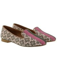 Kate Spade Lounge Spade Flower Loafers - Rose