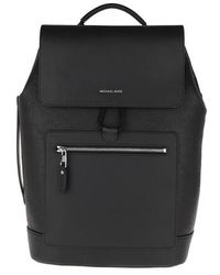 Michael Kors Flap Backpack - Noir