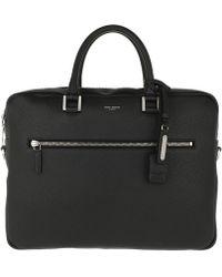 Saint Laurent - Sac De Jour Medium Briefcase Grained Leather Black - Lyst
