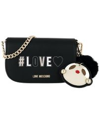 8349a882ca4b Love Moschino Quilted Crossbody Bag Nero in Black - Lyst