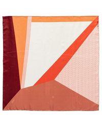 Coccinelle Colour Block Foulard Scarve - Multicolore