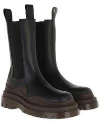 Bottega Veneta - Tire Boot Leather - Lyst