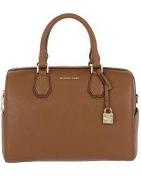 Michael Kors - Mercer Md Duffle Bag Leather Luggage - Lyst