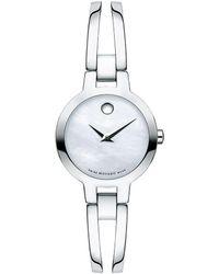 Movado Amorosa Watch - Mettallic
