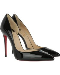 best website 420fa 43340 Iriza Patent 100 Leather Court Shoes Black