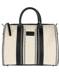 Lala Berlin Duffle Bag Lima Hessian - Black