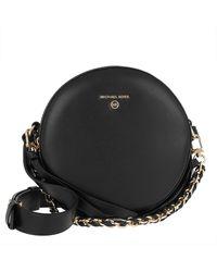 Michael Kors Delancey MD Circle Crossbody Bag Black - Noir