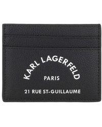 Karl Lagerfeld Rue Saint Guillaume Classic Ch - Noir