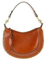 Isabel Marant Naoko Hobo Bag Leather - Brown