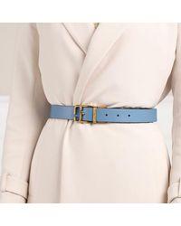 Marc Jacobs The J Link Reversible Belt Leather - Neutre