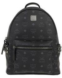 MCM Stark Backpack Small - Noir