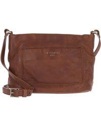 Liebeskind Berlin Vegetable Vintage Crossbody Bag Medium Brown