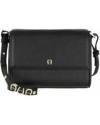 Aigner Crossbody Bag - Black