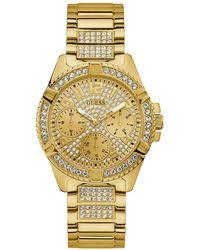 Guess Women Quartz Watch Lady Frontier Gold - Mettallic