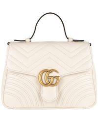 c27c87c8ccfad8 Gucci GG Marmont Shoulder Bag 2.0 Green in Green - Lyst