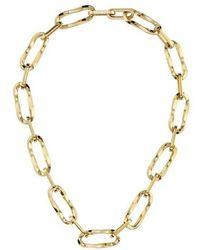 BOSS by HUGO BOSS Signature Chain Necklace - Métallisé