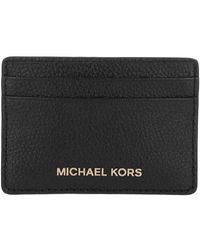 Michael Kors Jet Set Card Holder Black - Noir