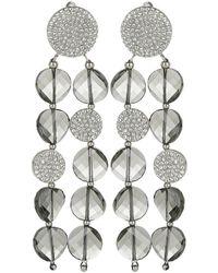 Atelier Swarovski - Clip Earrings Black Diamond - Lyst