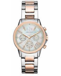 Armani Exchange AX4331 Ladies Lady Banks Watch - Métallisé