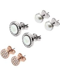Emporio Armani - Egs2457040 Earring Silver - Lyst