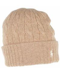 Polo Ralph Lauren Classiccable Hat Cold Weather - Neutre
