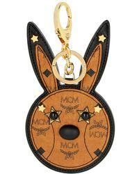 MCM Animal Rabbit Mirror Charm Cognac - Multicolour