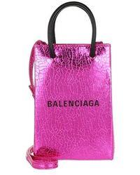 Balenciaga Shop Phone Holder - Purple