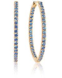 Sif Jakobs Jewellery Bovalino Earrings Blue Zirconia - Métallisé