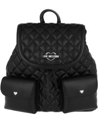 Love Moschino | Quilted Nappa Backpack 2 Nero | Lyst