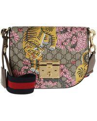 Gucci Borsa Padlock Bengal Shoulder Bag Beige/ebony - Multicolour