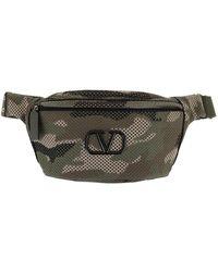 Valentino Waist Satchel Bag Army Green - Grün