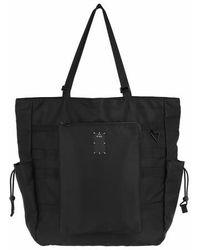 McQ Ic0 Tote Bag Smooth Ny - Noir