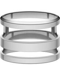 Daniel Wellington Elan Triad Ring Silver - Métallisé
