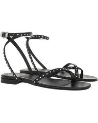 Zadig & Voltaire Paros Sandals Black