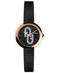 Furla Cosy Watch - Black